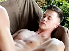 Slender twink gets hotly fucked in ass and mouth by boyfriend