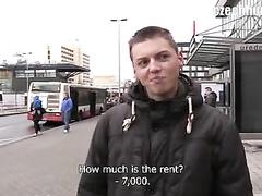Teen guy earned money from stranger twink