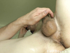 Exciting closeups of gay big cock masturbation
